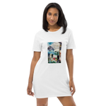 Organic Cotton T-shirt Dress - Peace