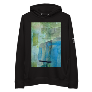 Load image into Gallery viewer, Organic Cotton Unisex Hoodie - Present Tense