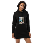 Organic Cotton Hoodie dress - Peace