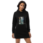 Organic Cotton Hoodie Dress - Waterfall