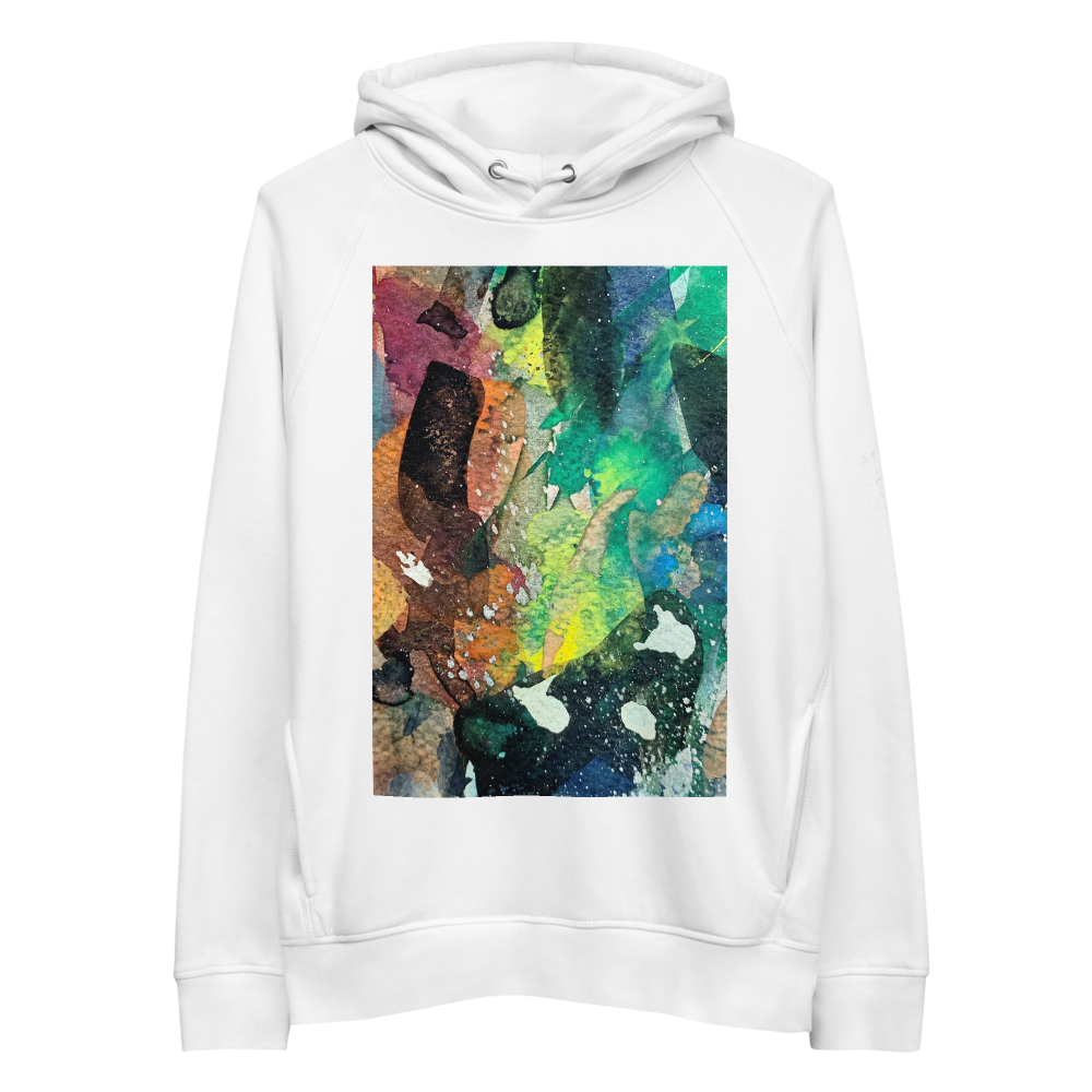 Organic Cotton Unisex Hoodie - The Valley