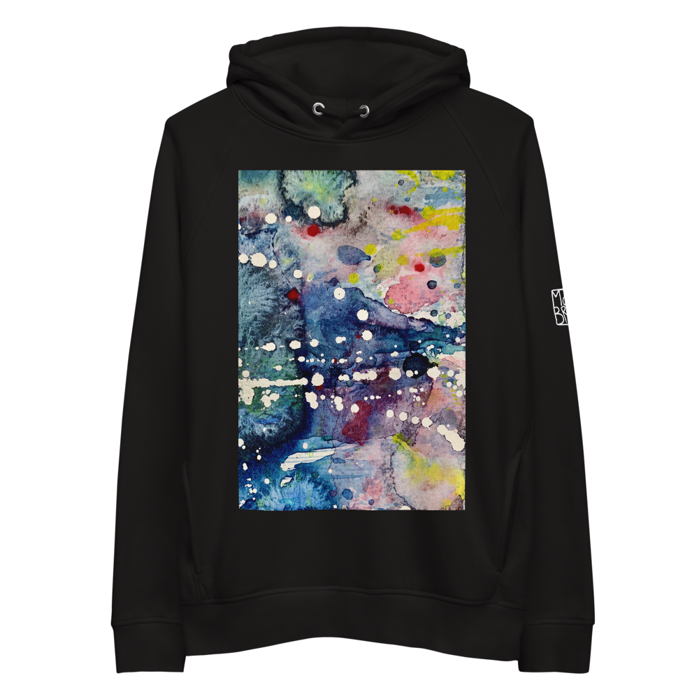 Load image into Gallery viewer, Organic Cotton Unisex Hoodie - Mountain