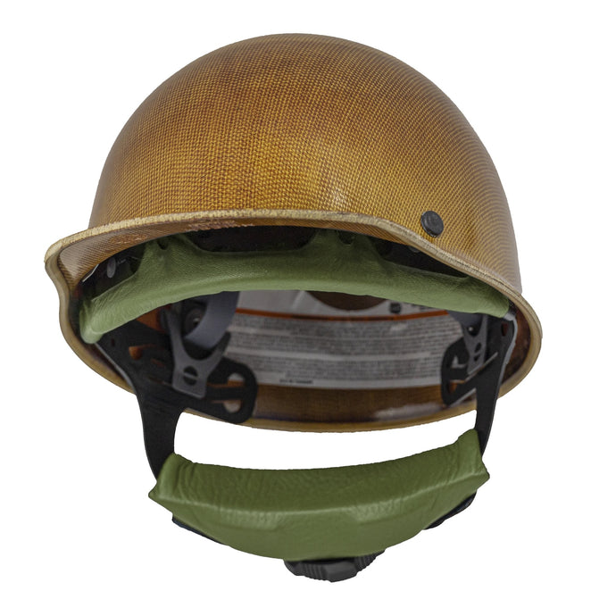 ChukBand™ Fas-Trac® III Headgear Wrap- Padded Elk Leather - ChukStar Leather