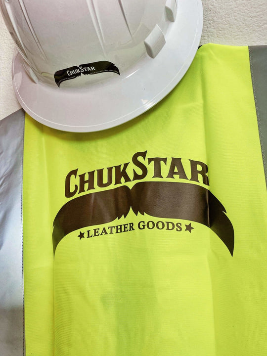 ChukStache Vinyl Sticker - ChukStar Leather