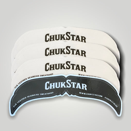 ChukStache Vinyl Sticker Set (4) - ChukStar Leather