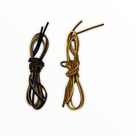 High Strength Leather Chuk Laces - ChukStar Leather