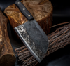 Chef's Handmade High-Carbon Clad Steel Kitchen Cleaver
