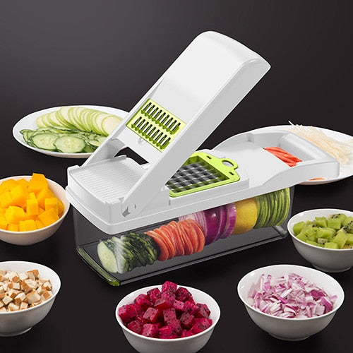 Mandoline Slicer With Container