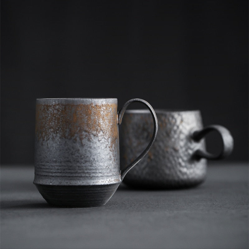 Handmade Japanese Style Vintage Coffee Cup