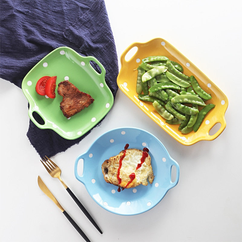 Creative Ceramic Salad Bowl Tableware