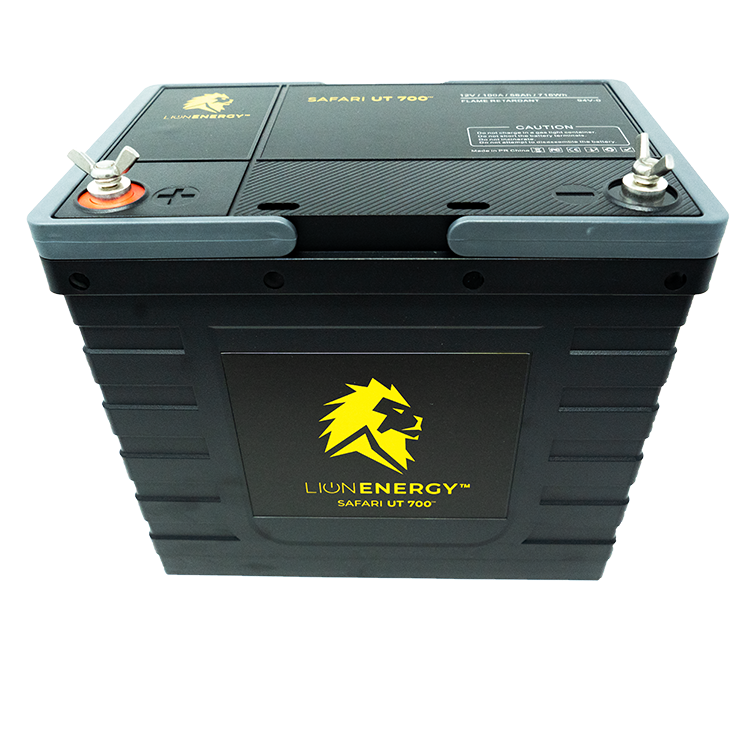 Lion Energy Safari UT 700 12V 56Ah Lithium Iron Phosphate (LiFePO4) Battery Solar Wholesale DIY Solar Kit
