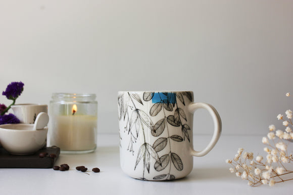 Handmade Mug, Ceramic Coffee Mug, Tea Cup, Mugs, Pottery Mug, Tea Mug, Pottery