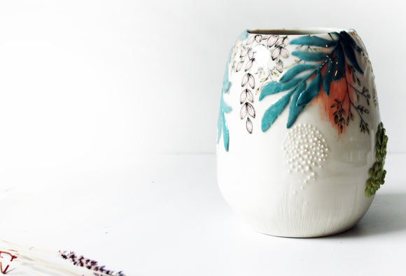 Big Flower Vase, Ceramic Vase, Ceramic Vases, Home Decor Ceramics, Vase