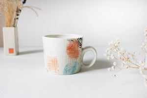 Pottery Cup, Ceramic Coffee Mug, Tea Cup, Mugs, Pottery Mug, Tea Mug, Pottery, White mug - Yesha-Art