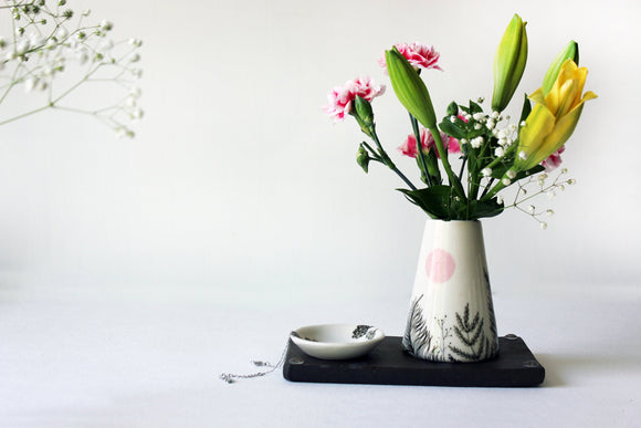 Cone Vase, Ceramic Vase, Modern Vase, Contemporary Home decor, Pottery, Contemporary Ceramics vase - Yesha-Art