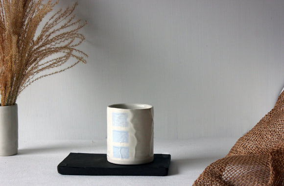 Modern Ceramic Tumbler, Ceramic Cup, Handmade Ceramic Cup, Mug, Gift for dad, Drinking Cup - Yesha-Art