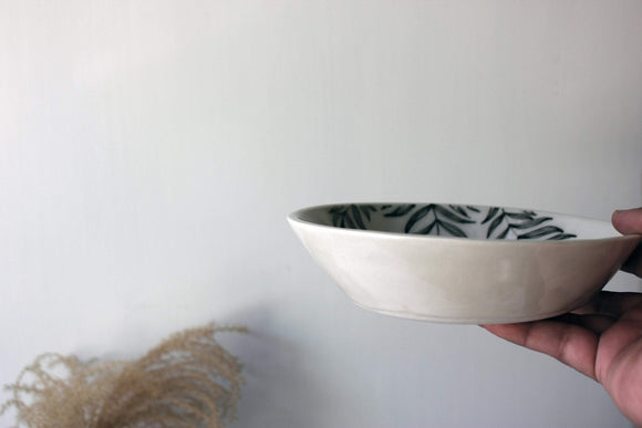 Pottery Salad Bowl, Pottery Serving Bowl, Ceramic Pasta Bowl, Handmade bowl,  Pottery Bowl - Yesha-Art