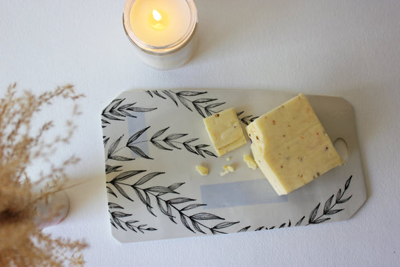 Ceramic Cheese Board, Decorative Platte, Modern Cheese Slate, Cheese Cutting Board, Cheese Tray - Yesha-Art