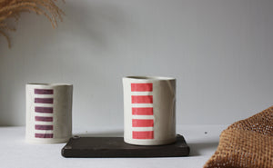 Whiskey Cups, Cocktail Tumbler, Ceramic Glass, Wine Glass, Juice Glass, Coffee Tumbler - Yesha-Art