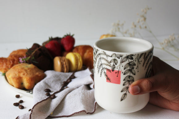 Handmade Mug, Ceramic Coffee Mug, Tea Cup, Mugs, Pottery Mug, Tea Mug, Pottery - Yesha-Art