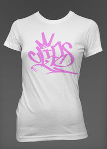 Ladies Clips GRAF Tee- Pink
