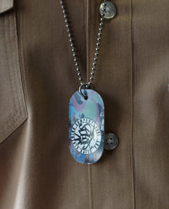 Graffitti Dog Tag