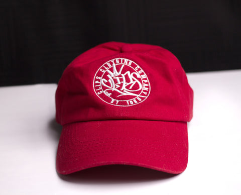 Clips Dad Hat red