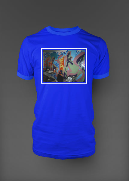 The Lab Graphic Tee - Blue
