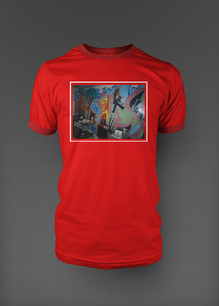 The Lab Graphic Tee - Red