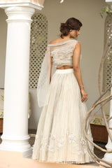 ivory-one-shoulder-blouse-with-heavily-embroidered-skirt