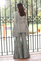 stone-blue-embroidered-kurta-with-flared-pants