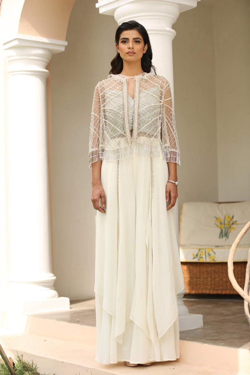 ivory-layered-jumpsuit-with-embroidered-tassel-cape
