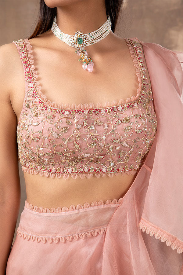 pink-embroidered-sharara-saree