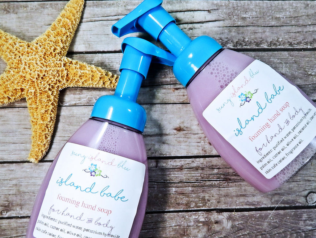 ISLAND BABE Foaming Hand Soap
