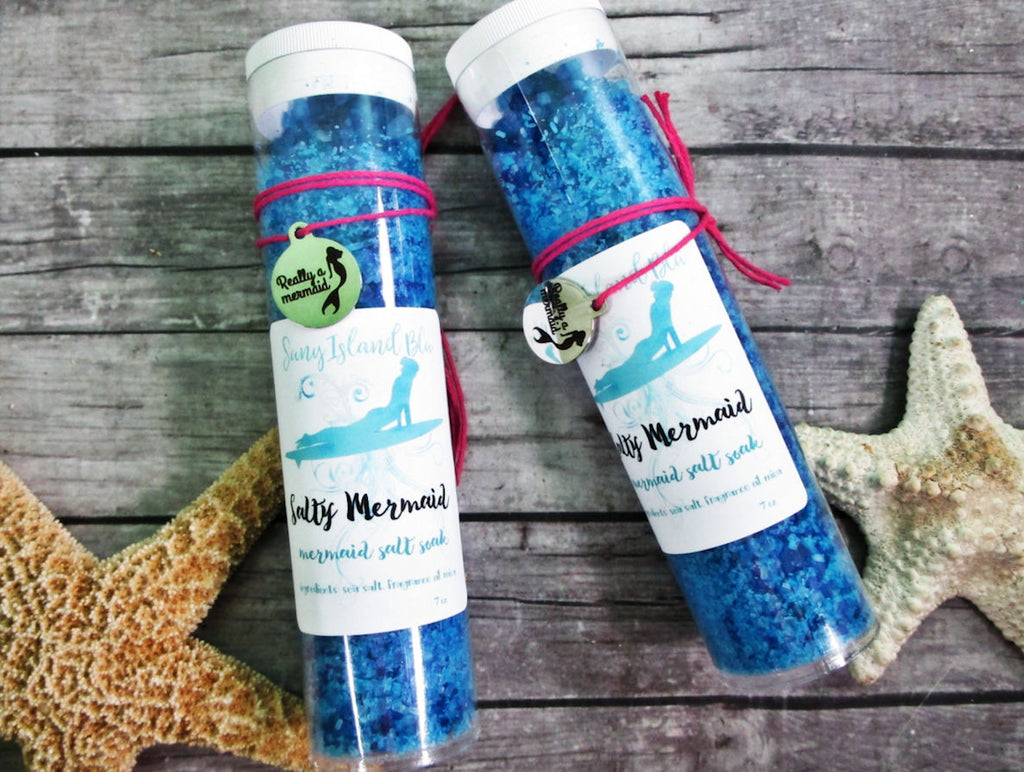 SALTY MERMAID Sea Salt Bath Soak