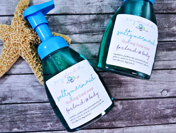 SALTY MERMAID  Foaming Hand Soap
