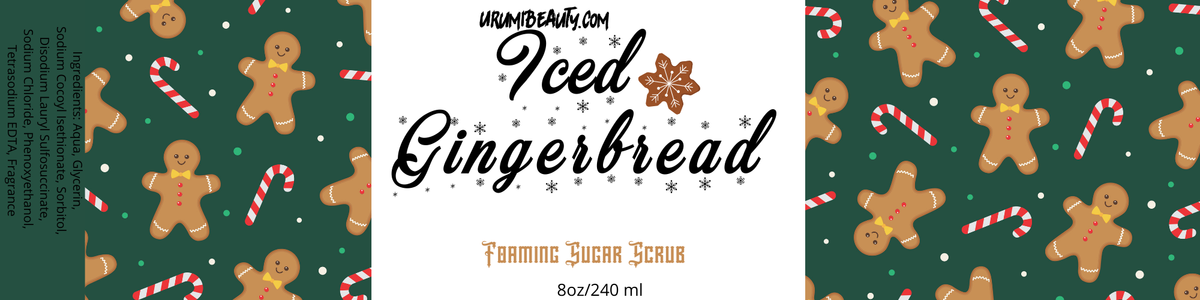 Iced GingerBread Sugar Scrub