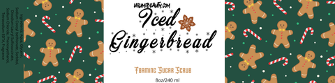 Iced GingerBread Man Body Frosting