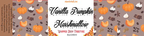 Image of Vanilla Pumpkin Marshmallow Sugar Scrub