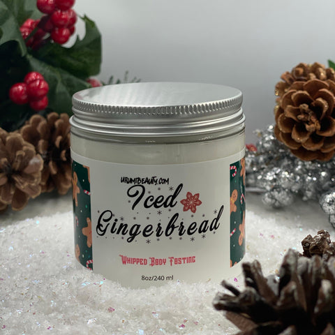 Image of Iced GingerBread Man Body Frosting