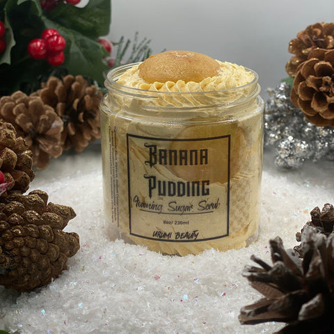 Image of banana pudding sugar scrub