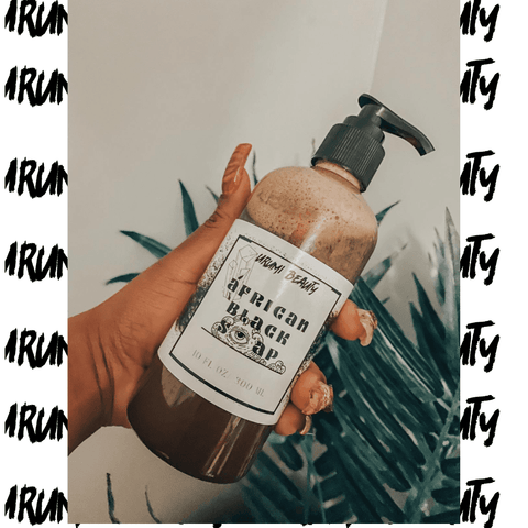 Lather Up-African Black Soap 🤘🏾🖤