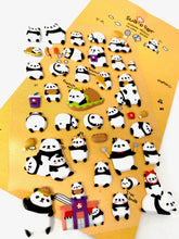 Load image into Gallery viewer, 01004 Panda Puffy Sticker-12
