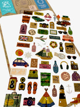 Load image into Gallery viewer, 02010 Travel Story Kraft Sticker-12