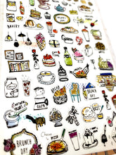 Load image into Gallery viewer, 02025 BRUNCH DAY PVC Sticker-12