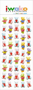 09195 BEARS GEL STICKER-12