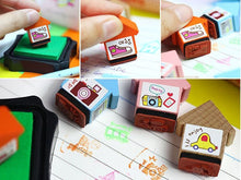 Load image into Gallery viewer, 10070 LITTLE HOUSE WOODEN STAMPS-32