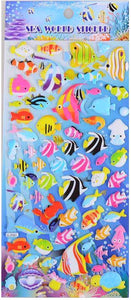 10113 SEALIFE PUFFY STICKERS-12