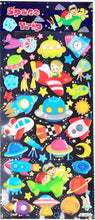 Load image into Gallery viewer, 10130 NEON SPACE PUFFY STICKERS-20