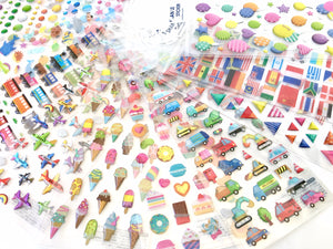 10135 ASSORTED GEL STICKERS-20